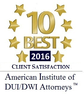 10 Best Award DUI 2016